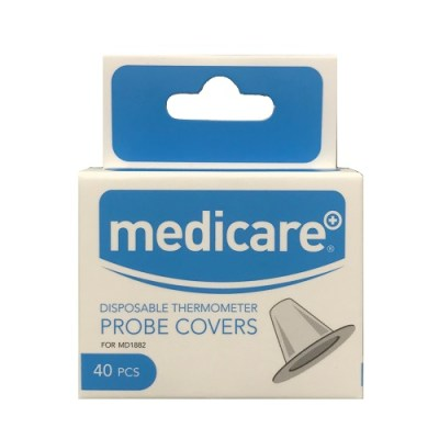 MEDICARE DISPOSABLE THERMOMETER PROBE COVERS (40)