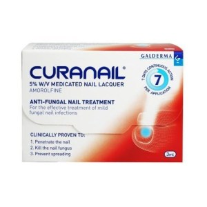 CURNAIL 5% AMOROLFINE MEDICATED NAIL LACQUER (2.5ML)