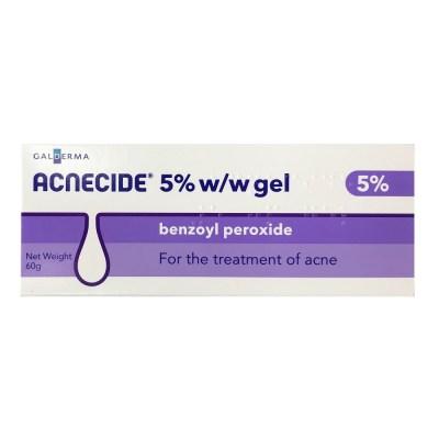 ACNECIDE 5% BENZOYL PEROXIDE ACNE GEL 60G