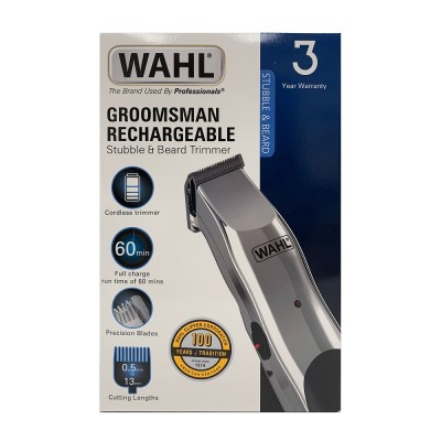 WAHL GROOMSMAN HAIR RECHARGEABLE TRIMMER
