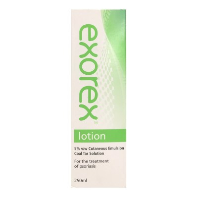 EXOREX LOTION 5% COAL TAR (250ML)