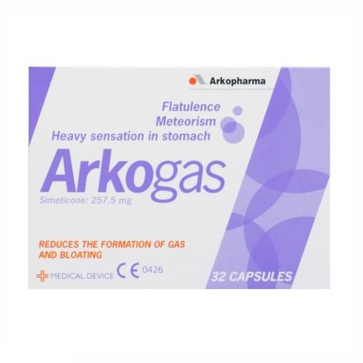ARKOGAS CAPSULES 257.5MG SIMETICONE (32)