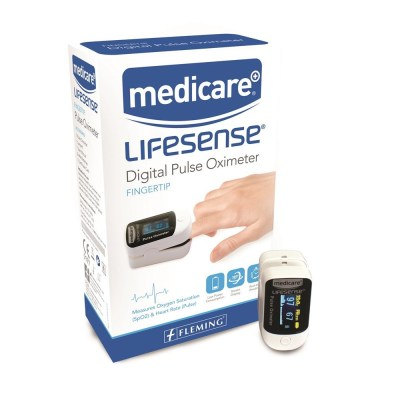 MEDICARE LIFESENSE DIGITAL PULSE OXIMETER