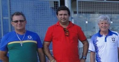 Vereador Bueno ,Macarrão e Deputado Airton Faleiro (PT)>(Foto Arquivo)
