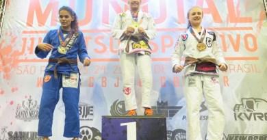 Paraense conquista título mundial de jiu-jitsu (Foto: Reprodução/Facebook)