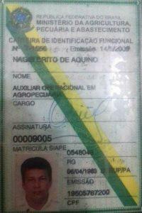 Um dos presos foi identificado como Nagib Brito de Aquino, 53 anos.