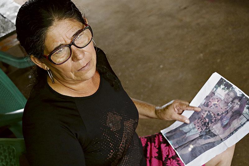 Filha e neto de Maria das Graças foram assassinados em 2016, em Ananindeua. (Foto: Wagner Santana/Diário do Pará)