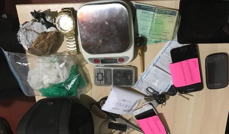 Objetos apreendidos pela Polícia Civil — Foto: Polícia Civil/Divulgação