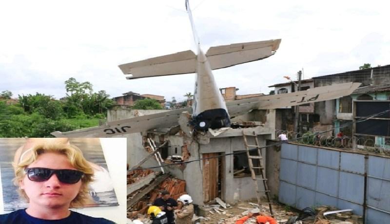 queda monomotor avião aeronave bengui belém — Foto: Reprodução/ TV Liberal