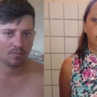 Casal é preso por trafico de drogas em Castelo de Sonhos com moto roubada