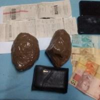 Passageiro de ônibus é preso com 800 gramas de crack na Serra do Cachimbo