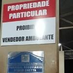 Proibição do comércio de vendedores ambulantes em rodoviária gera polêmica em Novo Progresso- Propriedade Particular???