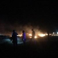 Avião cai pega fogo e mata pai e filho em Guarantã do Norte no Mato Grosso