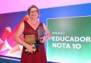 Luta dos professores para compartilhar ensinamentos é lembrada por Educadora do Ano