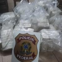 Mais de 300 kg de cocaína são apreendidos e quatro pessoas são presas pela PF em MT