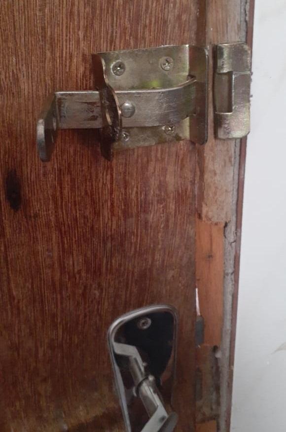 Assalto a residência no Bairro Tom Alegria 3,em Novo Progresso(Foto:Via WhatsApp)
