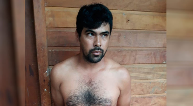 Ademilson Nunes,  de 31 anos, procurado pela justiça de Guarantã do Norte pelo crime de homicídio contra sua esposa; Edilene Coelho dos Santos, de 30 anos, que foi morta na frente do filho de 09 anos e de um recém-nascido(Foto>:Policia)