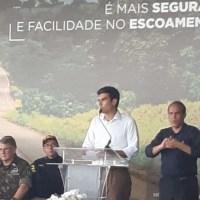 Helder é vaiado e Bolsonaro recebe aplausos em evento da BR 163 no Pará