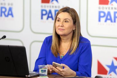 [Foto: Bruno Cecim / Ag.Para] Hana Ghassan, titular da Seplad