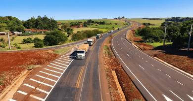 Trecho liberado tem quase nove quilômetros, segundo o Dnit — Foto: Dnit/Divulgação