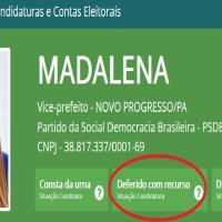 Chapa do PSDB tem vice aguardando julgamento –Deferido Com Recurso