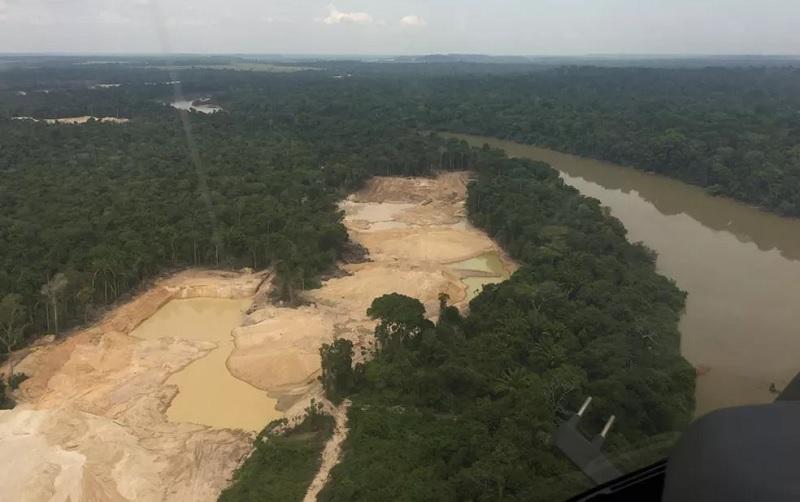 Ganga Peixoto da operação Verde Brasil 2 — Foto: Assessoria