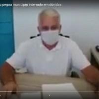 Após 20 dias da troca de comando prefeito Gelson Dill grava vídeo e diz que município está endividado e sucateado