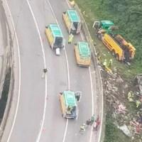 Tragédia no PR: veja a lista dos 53 passageiros que estavam no ônibus de Belém com destino a Santa Catarina
