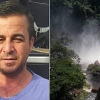 Motorista cai e desaparece na cachoeira do Rio Curua enquanto tirava selfies