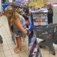 Covid-19: Mulher tira calcinha e usa ela como 'máscara' em supermercado; assista