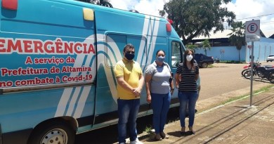 2021_03_20_Foto_Divulgação Norte Energia_Entrega de ambulância à Prefeitura de Altamira