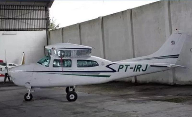 Avião Cessna 210 PT-IRJ desapareceu em viagem de Alenquer para garimpo — Foto: Reprodução/Redes Sociais
