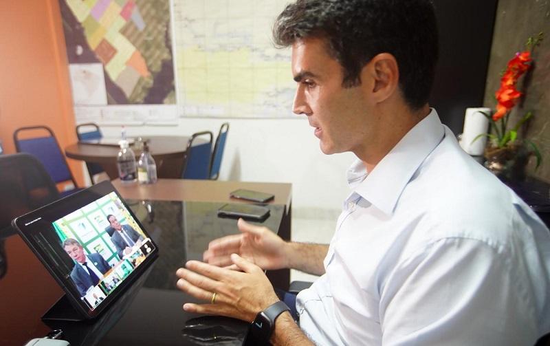 As estratégias para preservação da Amazônia foram discutidas com o general Hamilton MourãoFoto: Marco Santos / Ag. PA