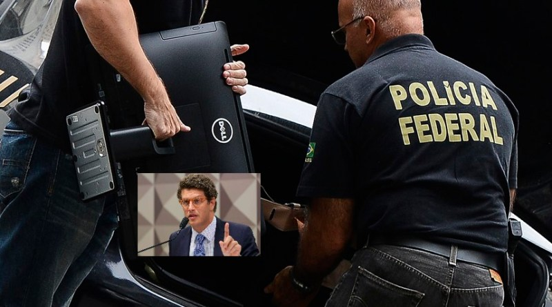 A Polícia Federal e a Receita Federal
