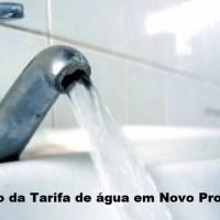 Prefeito Gelson Dill encaminha projeto de lei que autoriza negociar aumento de 32% na tarifa de agua em Novo Progresso