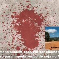 Seis somem após PM ser chamada por fazendeiro para impedir roubo de soja no Mato Grosso...