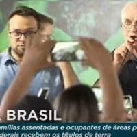 """Produtor Rural de Novo Progresso recebe titulo rural e pede que Bolsonaro use a """"caneta bic"""" para impedir queima de máquinas de garimpeiros e madeireiros"""
