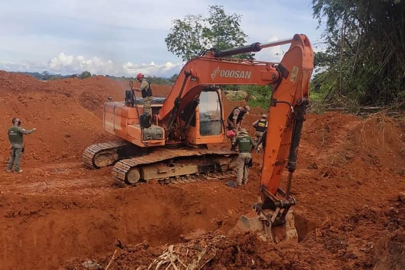 Operação Amazônia Viva combate desmatamento no sudoeste do Pará. — Foto: Reprodução / Agência Pará