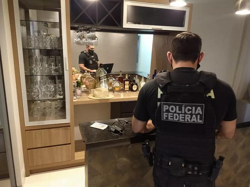 Operação Paralelo cumpre 21 mandados de prisão preventiva e interdição de carros deluxo — Foto: PF/Divulgação