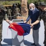 Exercito inaugura monumento em homenagem aos trabalhadores que morreram durante a execução rodovia Cuiabá-Santarém em Novo Progresso-PA