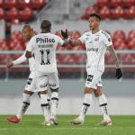Santos sofre, mas empata com o Independiente em show de João Paulo e avança na Sul-Americana