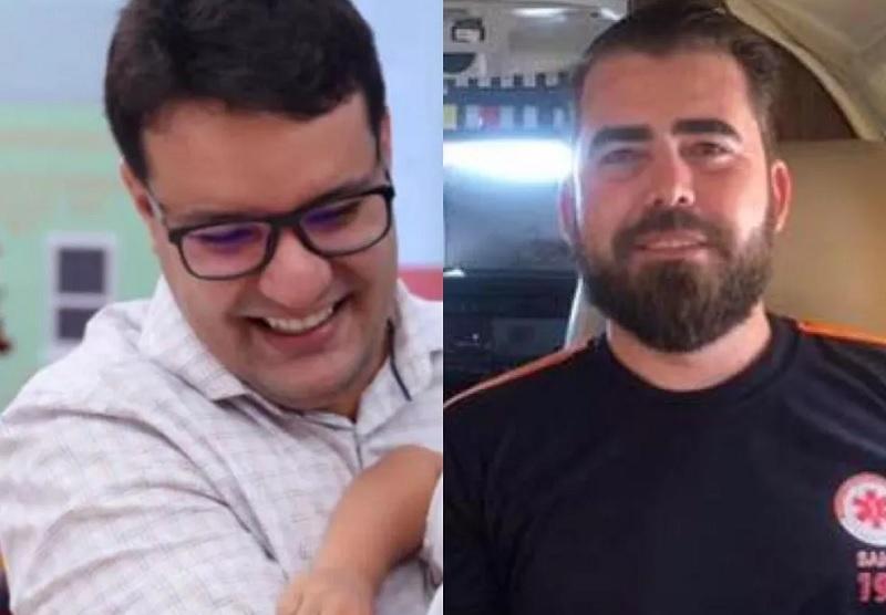 George Melo e Rafael da Costa estão entre as vítimas da queda do avião — Foto: Divulgação