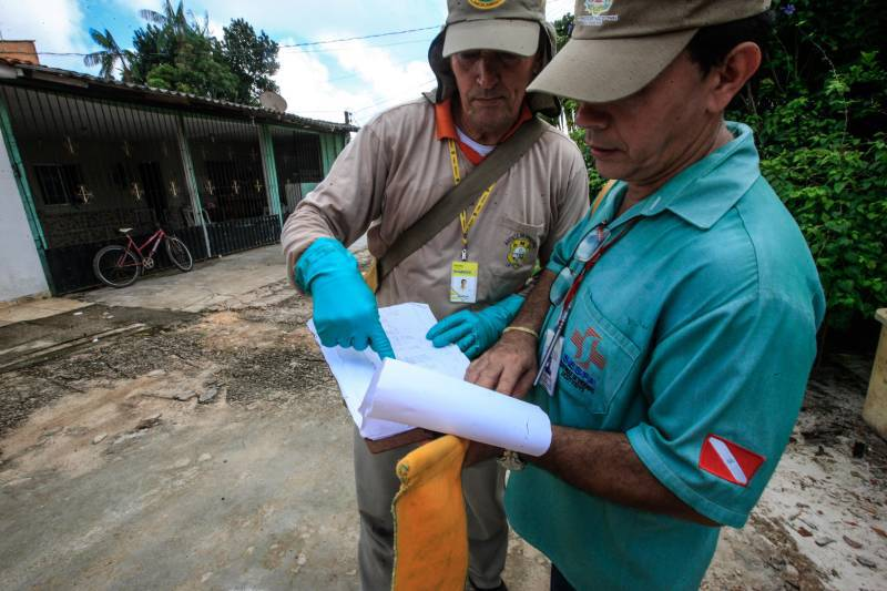 O Governo do Estado investe em ações de controle e prevenção de endemias e resultado revela expressiva queda em números de casos