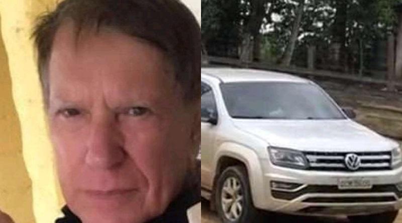O ex vice prefeito do município de Trairão o Sr. Izael Torres está desaparecido desde segunda feira, 09/08/21, (Foto:Divulgação)