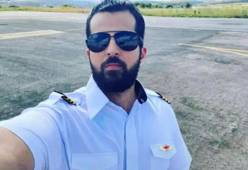 Cristiano Nava da Encarnação é piloto e estava com outras duas pessoas no voo — Foto: Arquivo pessoal