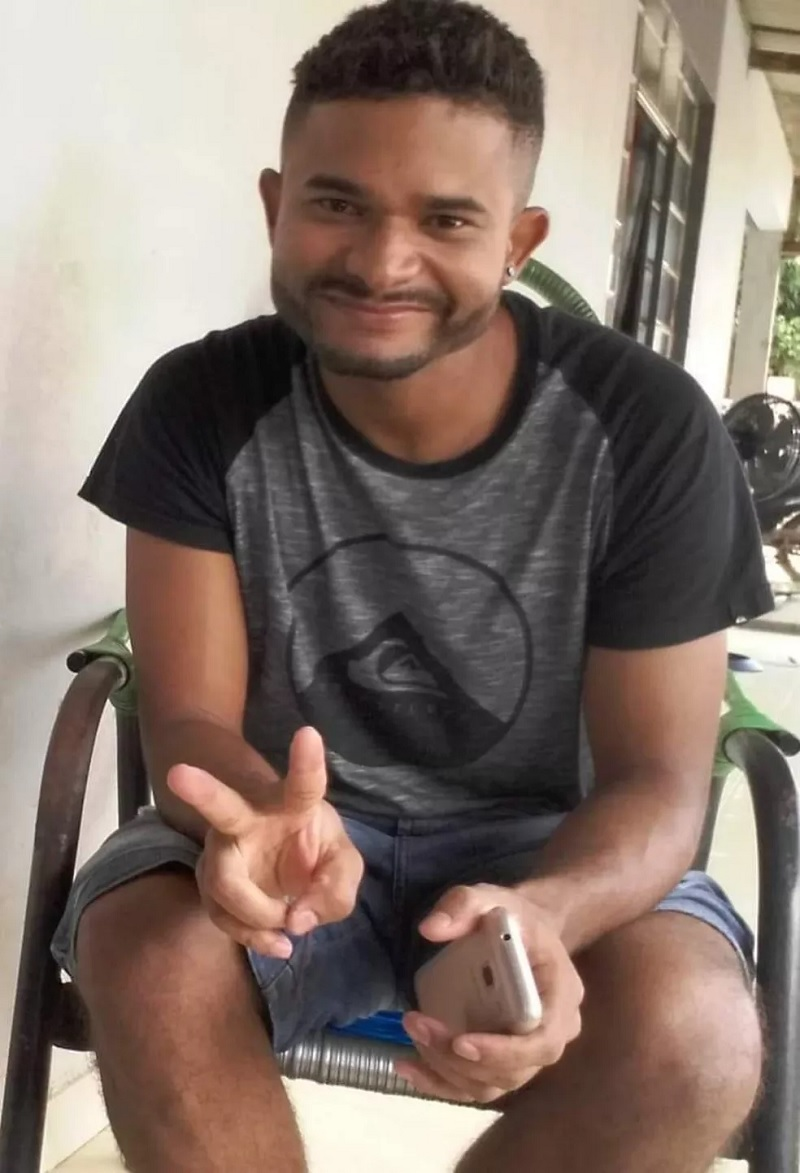 Lumar, de 28 anos, confessou o crime à família em Sorriso — Foto: Arquivo pessoal