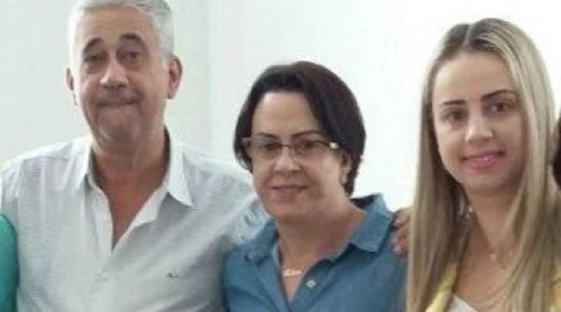Casal e filha foram encontrados mortos (FOto:Reprodução)