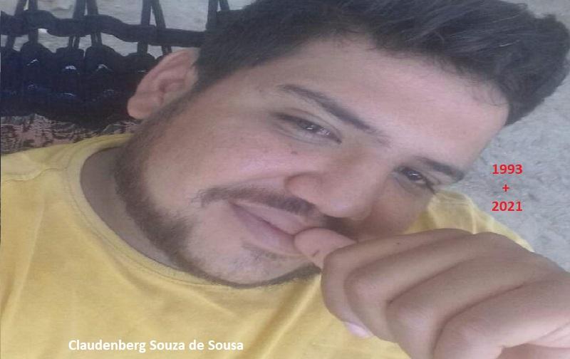 Claudemberg Conceição de Souza, de 28 anos, a vítima. (Foto: Reprodução)