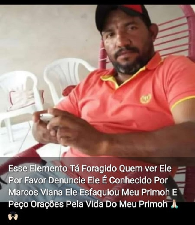 A Foto de Antônio Marcos conhecido por Negão foi divulgada nas redes sociais por amigos e familiares da vitima para encontra-lo (Reprodução)