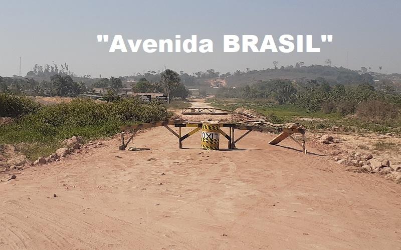 Ponte interditada da Avenida Brasil (Foto:Arquivo JFP)